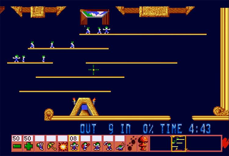 Lemmings 3DO video game