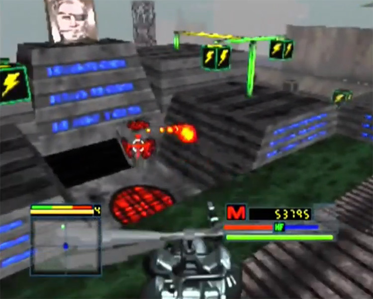 Blade Force game screenshot