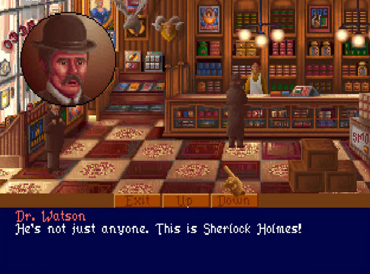 Lost Files of Sherlock Holmes: The Case of the Serrated Scalpel in 3DO