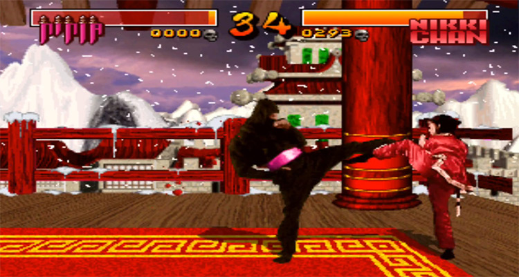 Way of the Warrior in 3DO