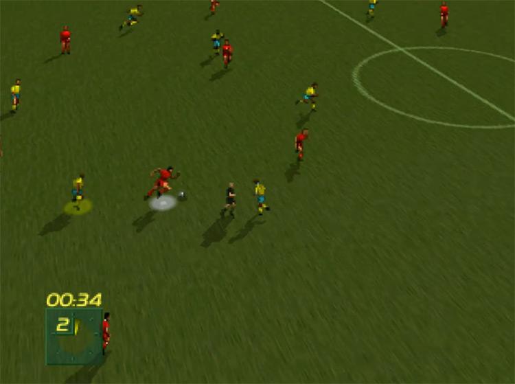 FIFA International Soccer 3DO gameplay