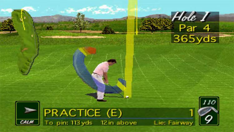 PGA Tour 96 3DO gameplay