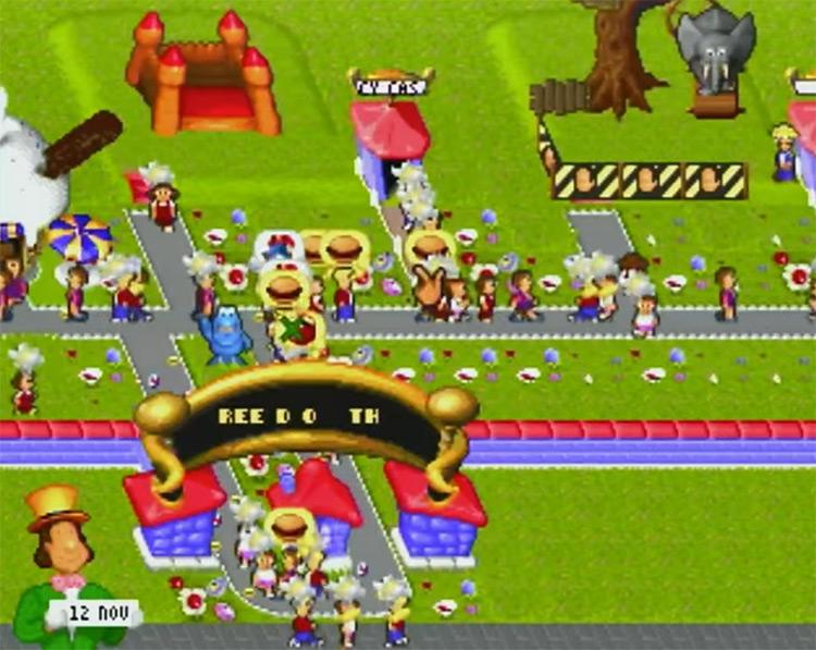 Theme Park 3DO game screenshot