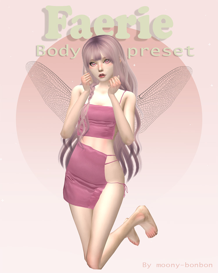 Faerie – Body Preset N2 Sims 4 CC