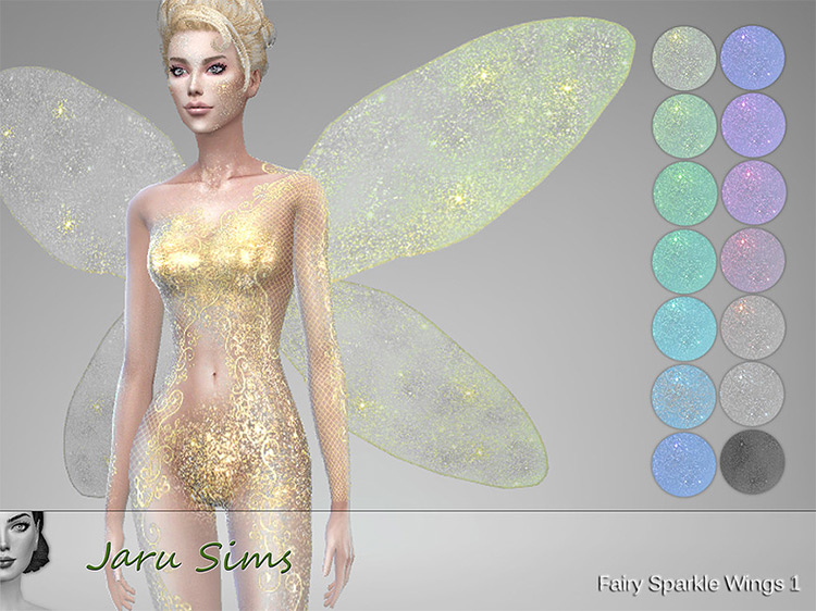 Fairy Sparkle Wings 1 TS4 CC