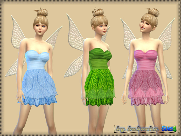 Tinker Bell Set for Sims 4