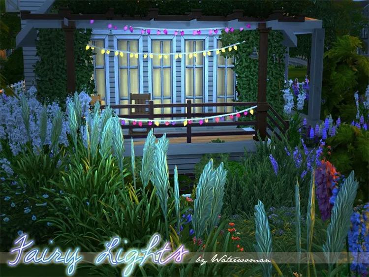 Fairy Lights Sims 4 CC screenshot