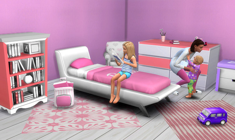 Barbie Kids Room Stuff Sims 4 CC