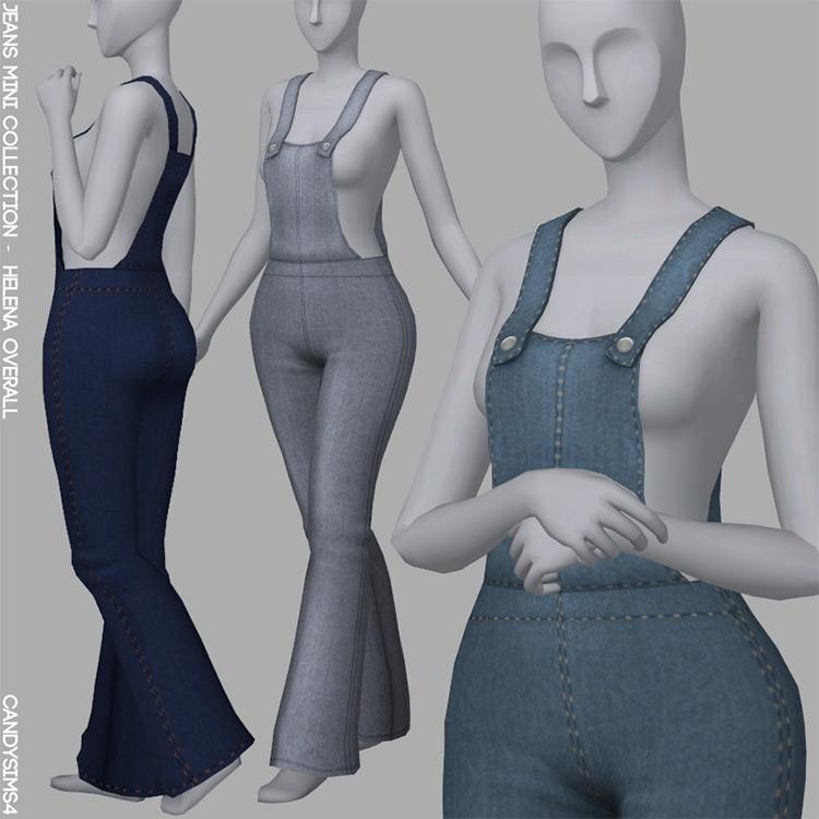Helena Overall Sims 4 CC screenshot