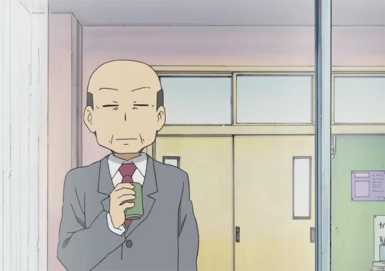The Principal in Nichijou anime