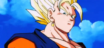 Vegito Super Saiyan in DBZ Anime