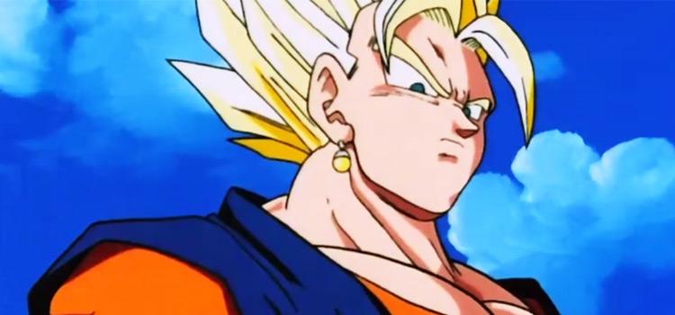 Vegito Super Saiyan in DBZ Anime