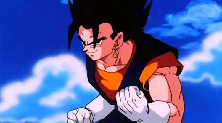 Vegito from Dragon Ball Z anime