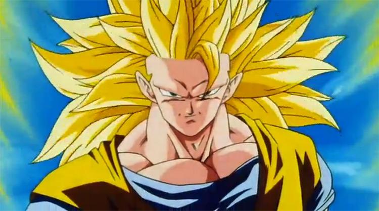 Goku in Dragon Ball Z anime