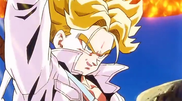 Trunks (from the future) from DBZ anime