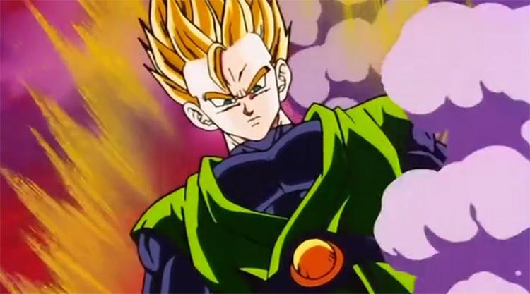 Gohan in Dragon Ball Z anime