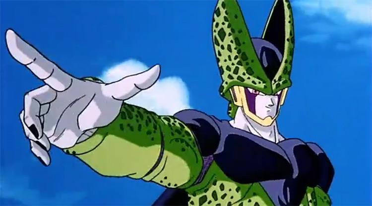 Cell in Dragon Ball Z anime
