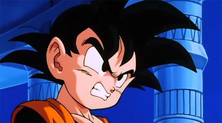 Goten in Dragon Ball Z anime