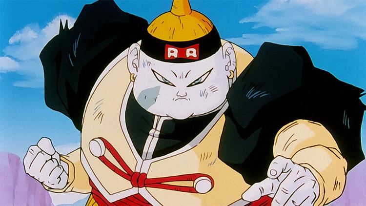 Android 19 Dragon Ball Z anime screenshot