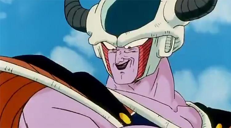 King Cold Dragon Ball Z anime screenshot