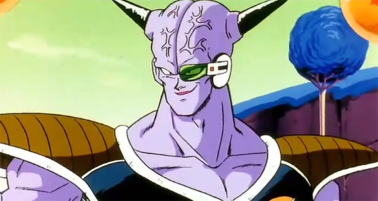 Captain Ginyu from DBZ anime