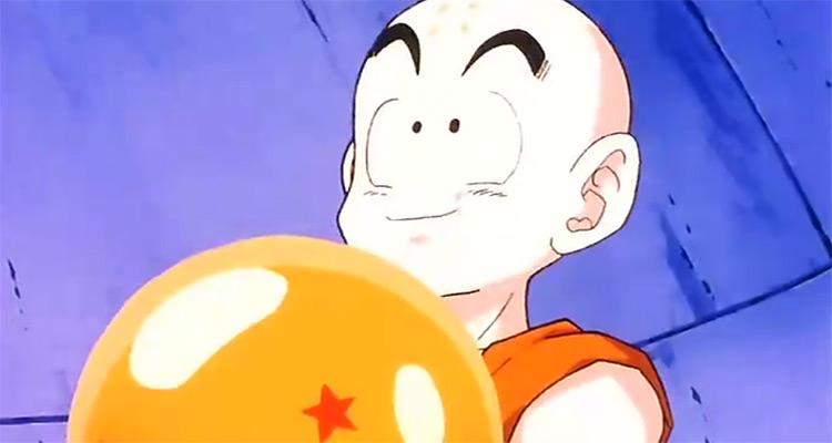 Krillin in Dragon Ball Z anime