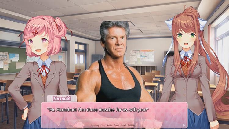 Doki Doki Meme Club DDLC mod