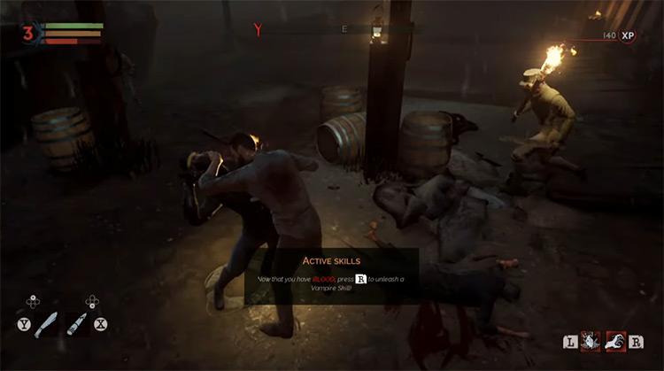 Vampyr video game screenshot