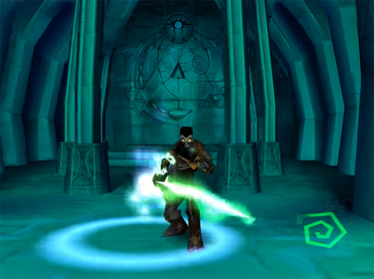 Legacy of Kain: Soul Reaver gameplay screenshot
