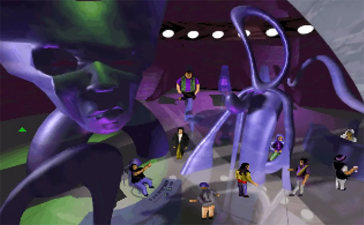 BloodNet gameplay screenshot