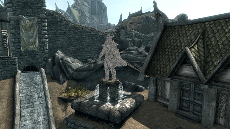 Player Statue Mod for Skyrim
