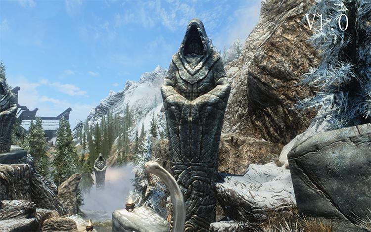 Sweet Sovngarde Statue in Skyrim