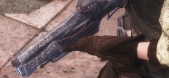 Dwarven Rifle HD Screenshot - Modded Skyrim