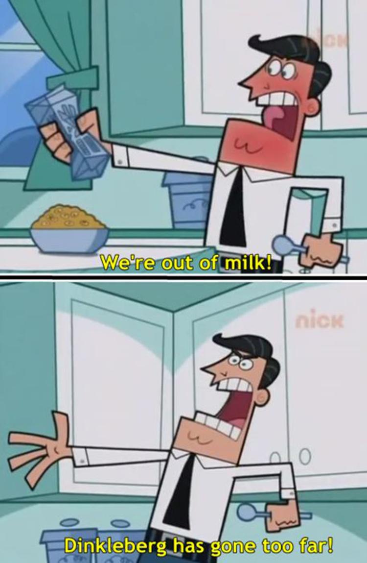 Dinkleberg angry meme