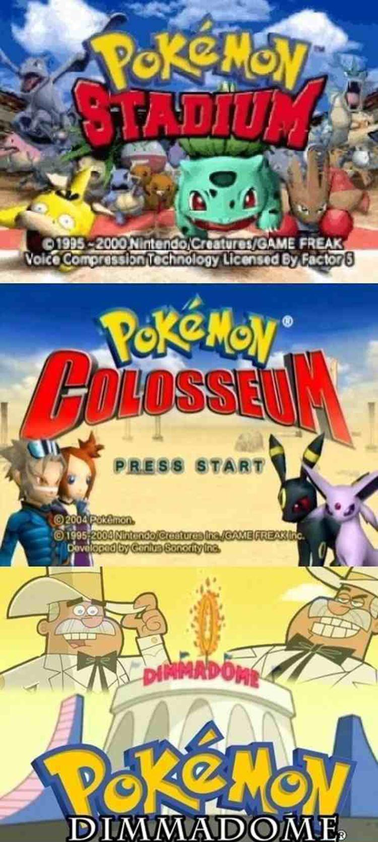 Pokemon Colosseum dimmadome meme