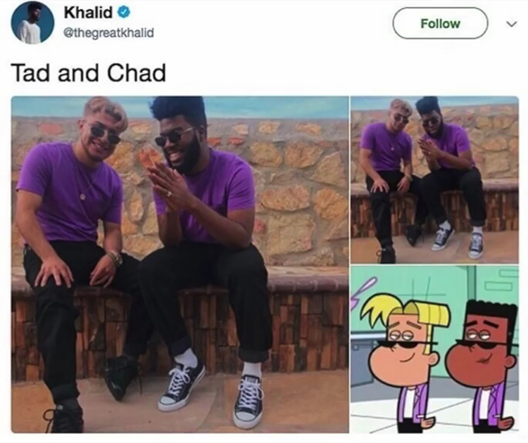 Tad and Chad in real life