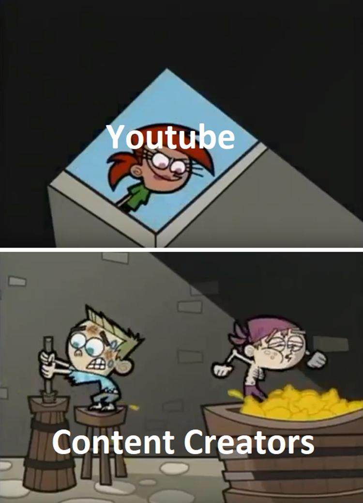 Vicki youtube and content creators meme