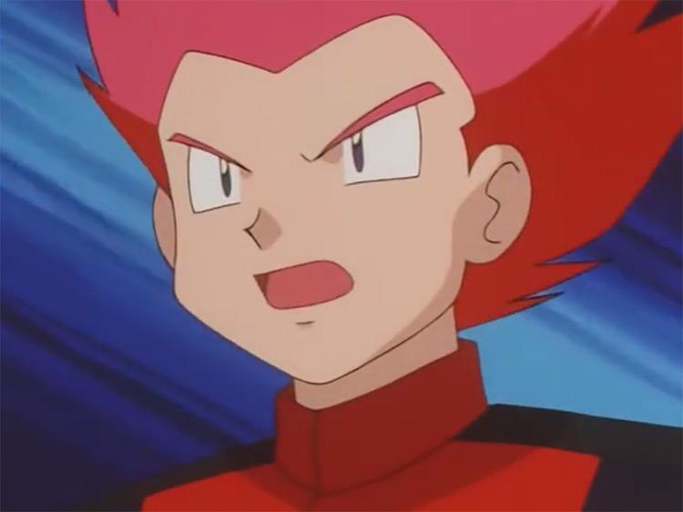 Lance Pokémon anime screenshot