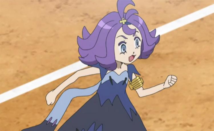 Acerola from Pokémon anime
