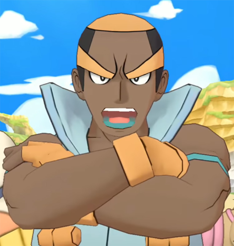 Marshall Pokémon anime screenshot