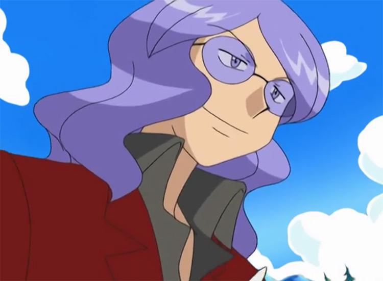 Lucian Elite Four from Pokémon anime