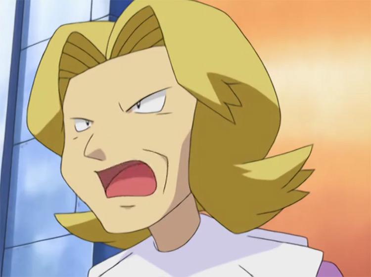 Agatha E4 from Pokémon anime