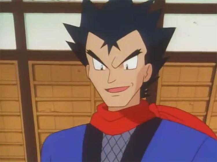 Koga Pokémon anime screenshot