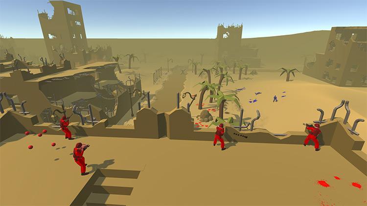 Desert Ruins Mod for Ravenfield