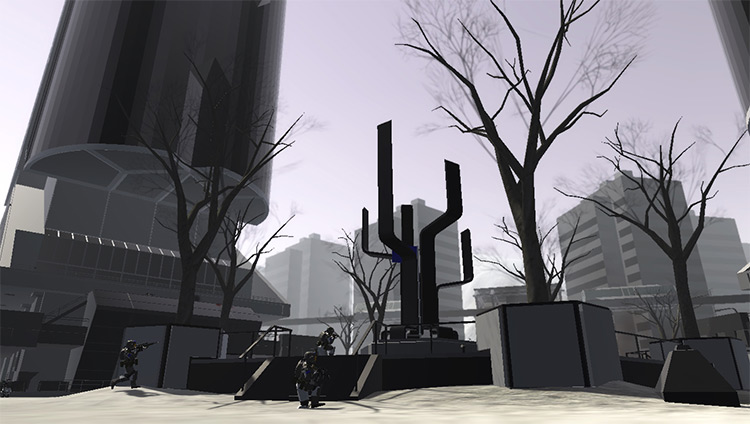 Fall of Berlin 2140 Ravenfield Mod