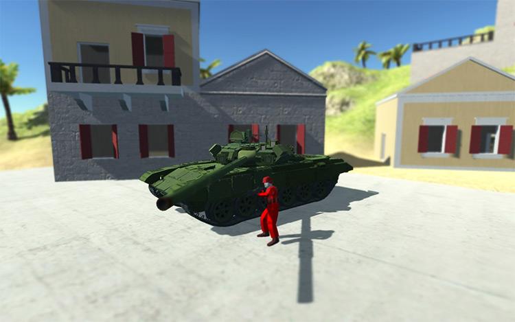 T-90A Vladimir Ravenfield Mod
