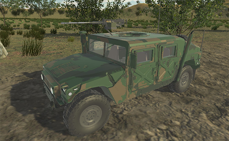 M998 Humvee for Ravenfield video game