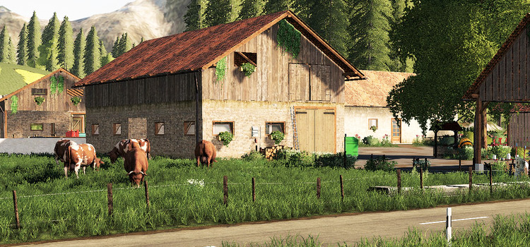 Slovenia Map Mod for FS19