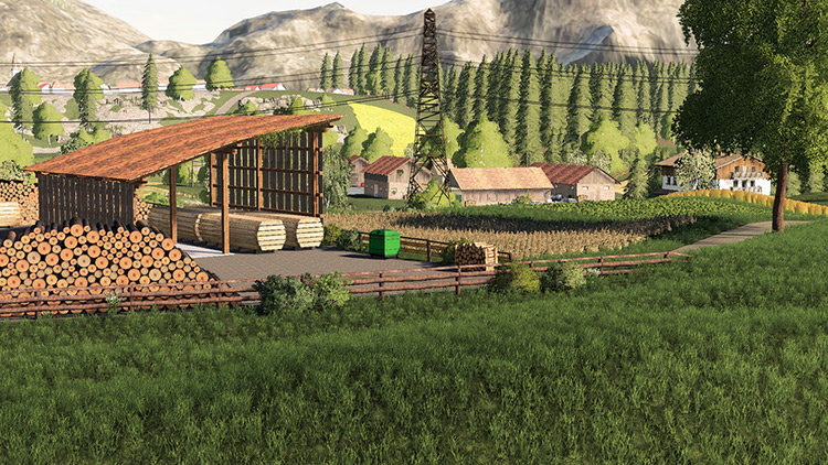 The Hills of Slovenia FS19 Map