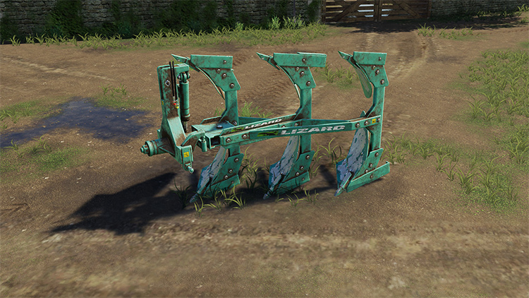 Handcrafted Plow Mod for FS19
